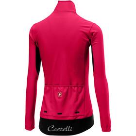 Castelli Perfetto Longsleeve Jersey Damen electric/magenta